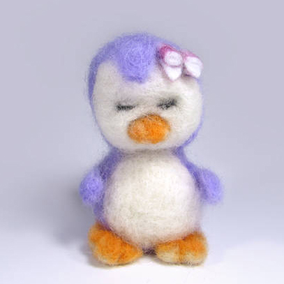 felted-penguin