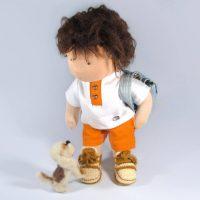 steiner-doll-felted-dog