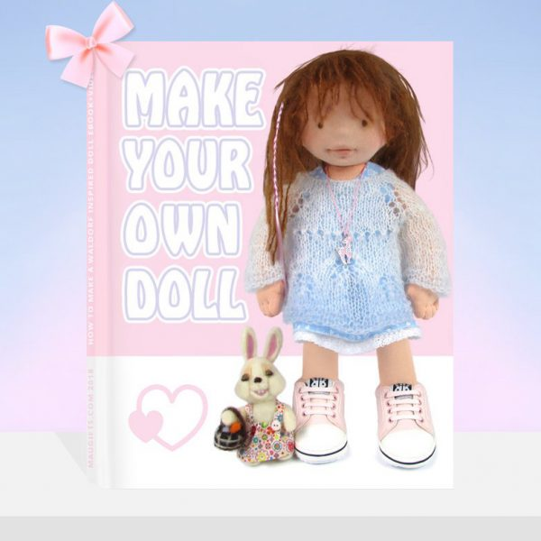 how to make a doll steiner waldorf blythe american doll
