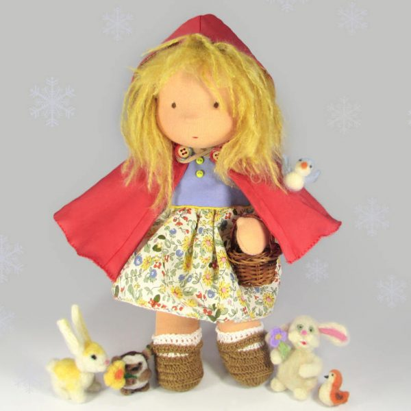 red riding hood steiner waldorf doll