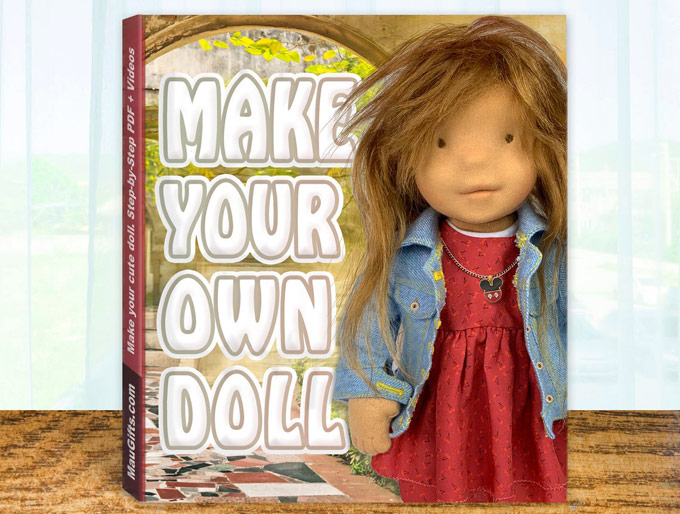 How to make a doll | fabric, textile, Waldorf, art