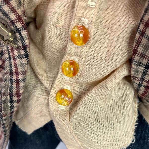 Gavroche waldorf doll shirt preview