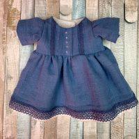 Cute doll dress from denim