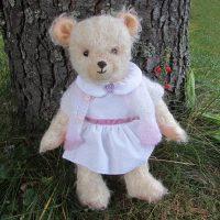 Artis teddy bear with schulte mohair