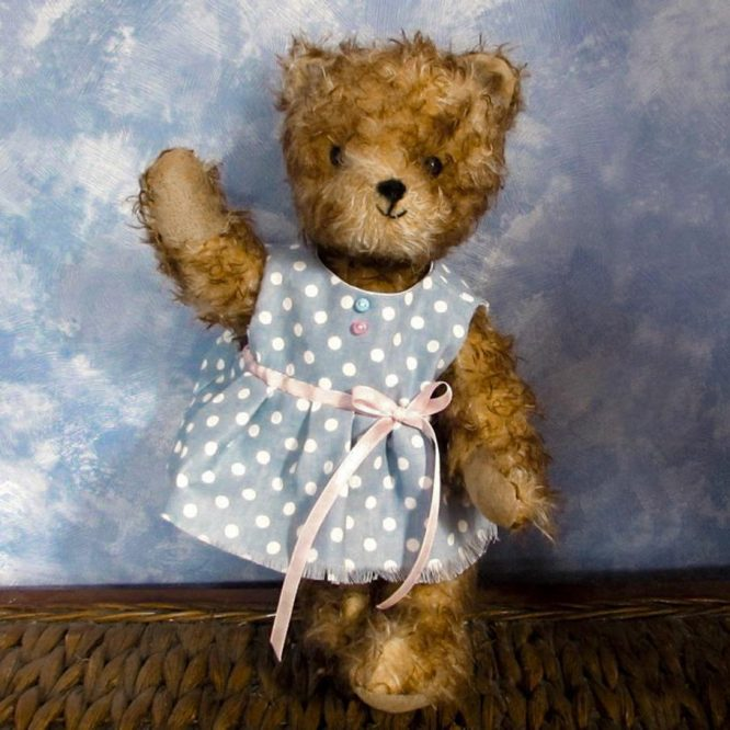One of a kind collectable teddy bear