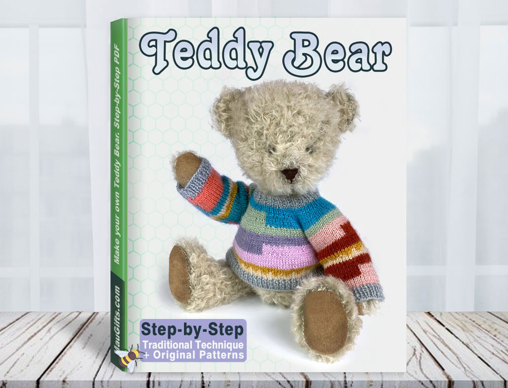 How to make a Teddy Bear Tutorial and Pattrns PDF