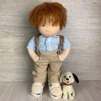 Валдорфска кукла момче